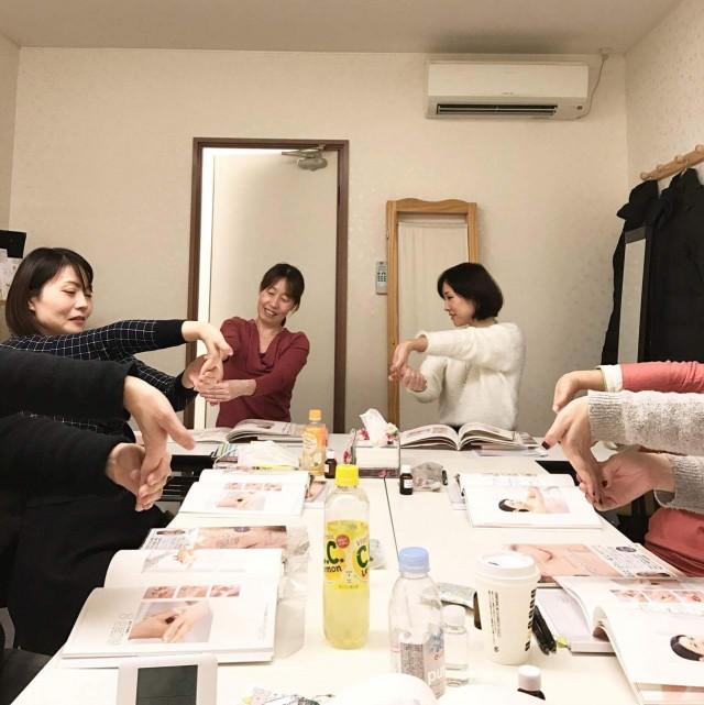 アロマプレッシャー認定講座「セルフマッサージテラピー」@会津若松