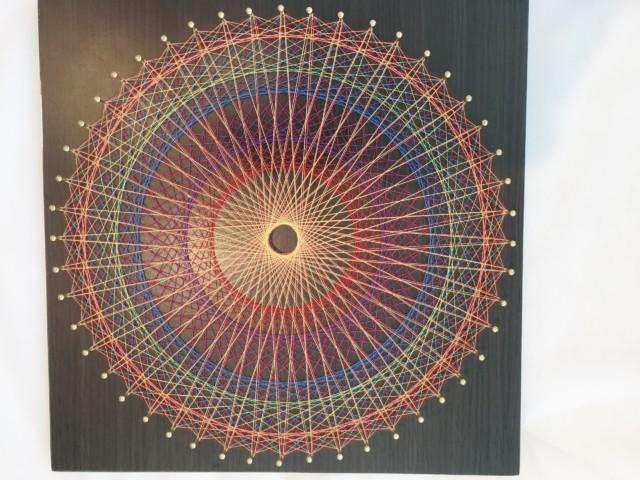 糸かけ曼荼羅・お客様の作品