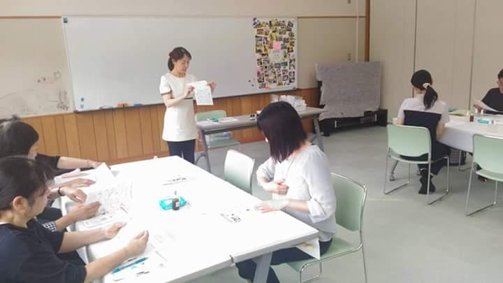 福島県昭和村 認知症予防のためのアロマ教室