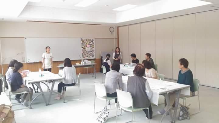 福島県昭和村 認知症予防のためのアロマ教室 講師挨拶