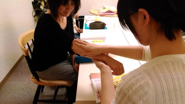 アロマプレッシャー@会津第2期 リンパマッサージ実習