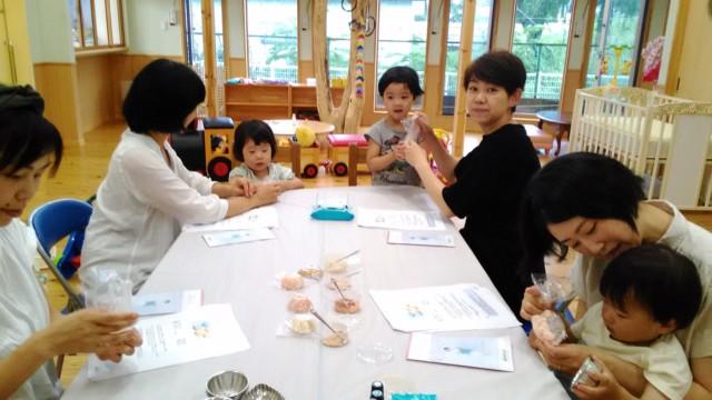 若松第二幼稚園・星の子ランド 親子で手捏ねアロマ石けん作り