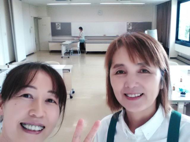 喜多方市ハッピーママ インストラクターの二人